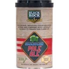 50% Off past BBD - Black Rock Crafted American Pale Ale 6 x 1.7kg